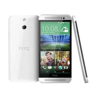 HTC One E8 Pearl White Smartphone [Dual SIM]