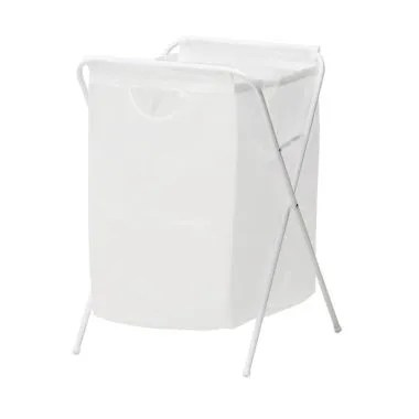 Ikea Jall White Laundry Bag         ...