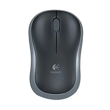 Logitech M185 Optical USB Wireless Mouse - Swift Grey