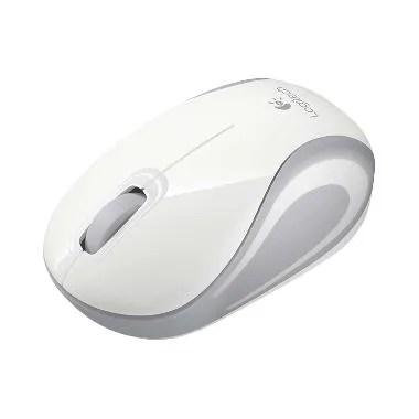 Logitech M187 Putih Wireless Mouse