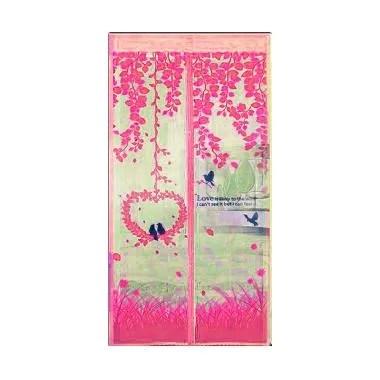 Lotusshops Love Garden [X] Exclusive Pink Tirai Pintu Magnet