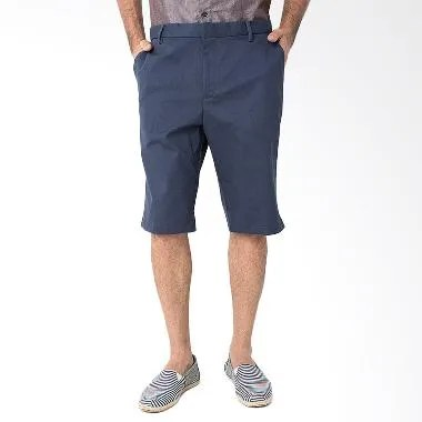 Magnificents Cotton Twill Short Pants MGB23 Celana Pendek Pria - Navy