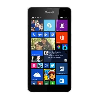 Microsoft Lumia 535 Smartphone - White [8GB/ 1GB/ Dual SIM]