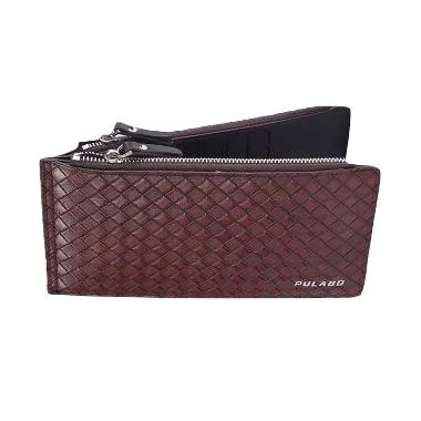 Pixel99 Pulabo Purse Card Holder Wallet - Brown