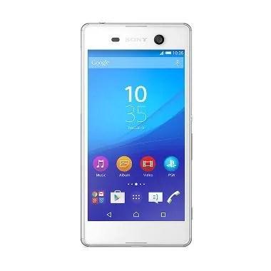 Sony Xperia M5 Smartphone - White [LTE/Dual SIM/RAM 3GB/16GB]