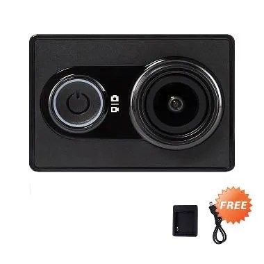 Xiaomi Yi International Edition Action Camera + Free Charger Battery