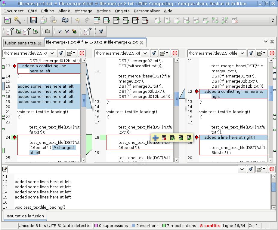 Elli 233 Computing Merge Advanced Comparison Diff Merge Tool