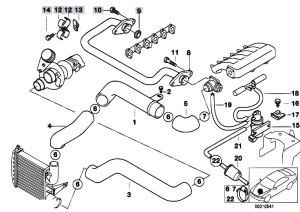 Original Parts for E39 525tds M51 Touring  Engine Intake