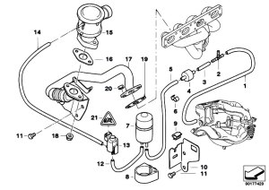 Original Parts for E36 316i 19 M43 Compact  Engine Air