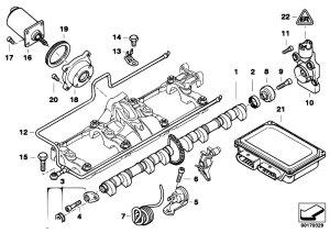 Original Parts for E65 745i N62 Sedan  Engine Valve