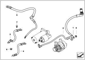 Original Parts for E46 330d M57N Sedan  Engine Electrical