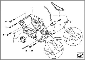 Original Parts for E66 735Li N62 Sedan  Engine Lower
