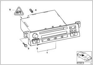Original Parts for E46 330xd M57 Touring  Audio