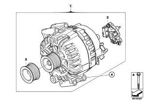 Original Parts for E70 X5 30si N52N SAV  Engine