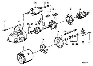 Original Parts for E34 518i M43 Touring  Engine