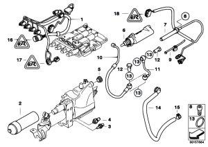 Original Parts for E64 M6 S85 Cabrio  Manual Transmission