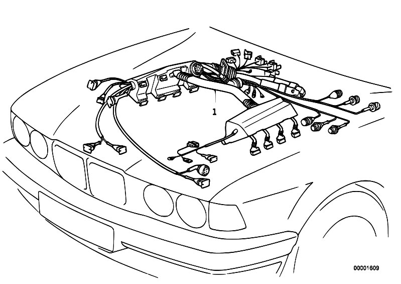BMW M60 Engine Wiring Harness: BMW E30 Alarm Wiring Diagram At Hrqsolutions.co
