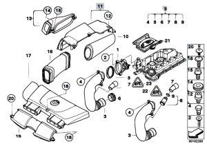 Original Parts for E90 320d M47N2 Sedan  Fuel Preparation