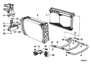 Original Parts for E36 318tds M41 Touring  Heater And Air