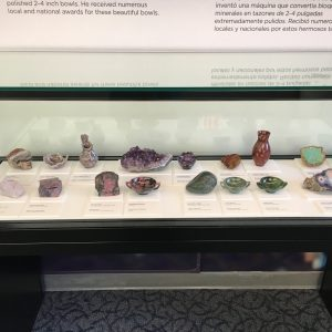 Beautiful gemstones from the San Diego Natural History Museum in California