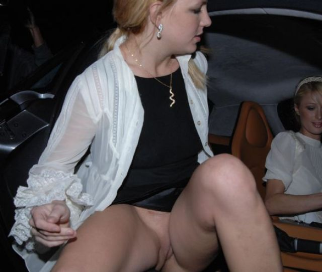 Britney Spears Upskirt No Panties Pussy Naked Pictures