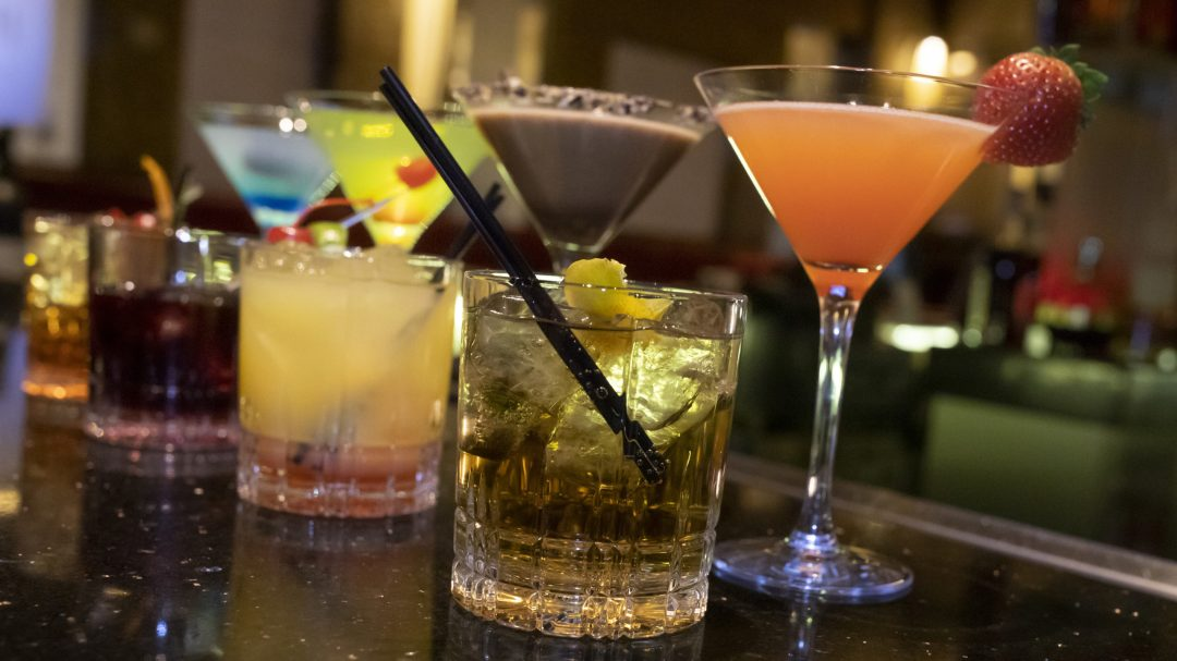 a photo of cocktails