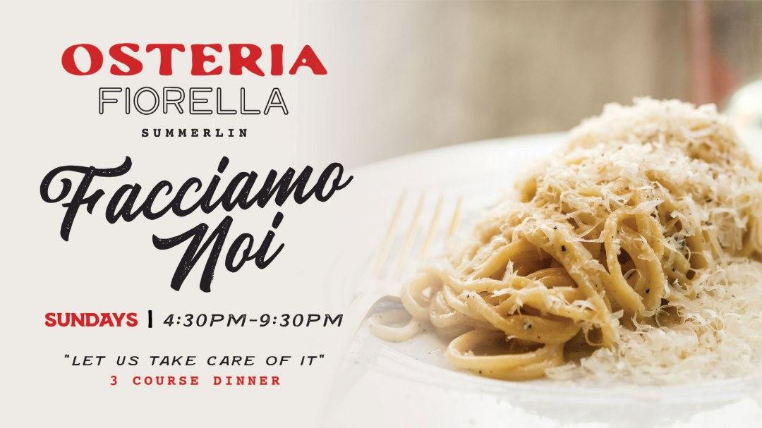 Osteria Fiorella Sunday