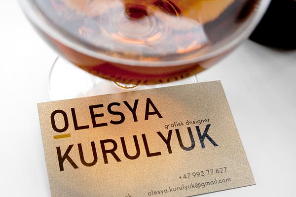 Olesya Kurulyuk Branding