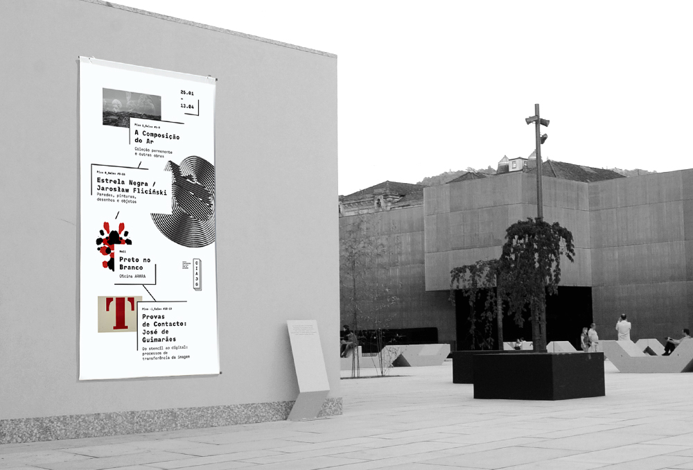 José de Guimarães International Arts Centre branding
