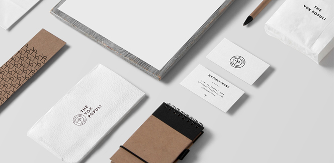 The Vox Populi visual identity