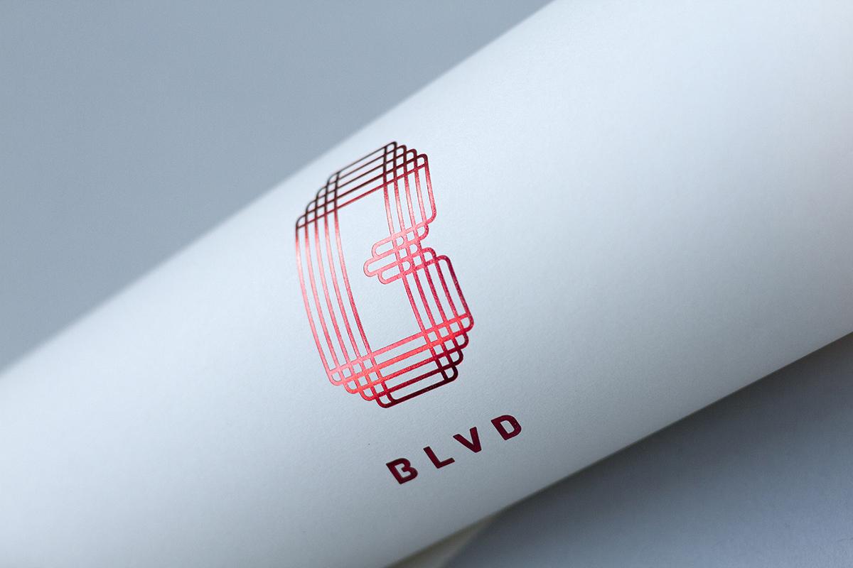 Blvd branding