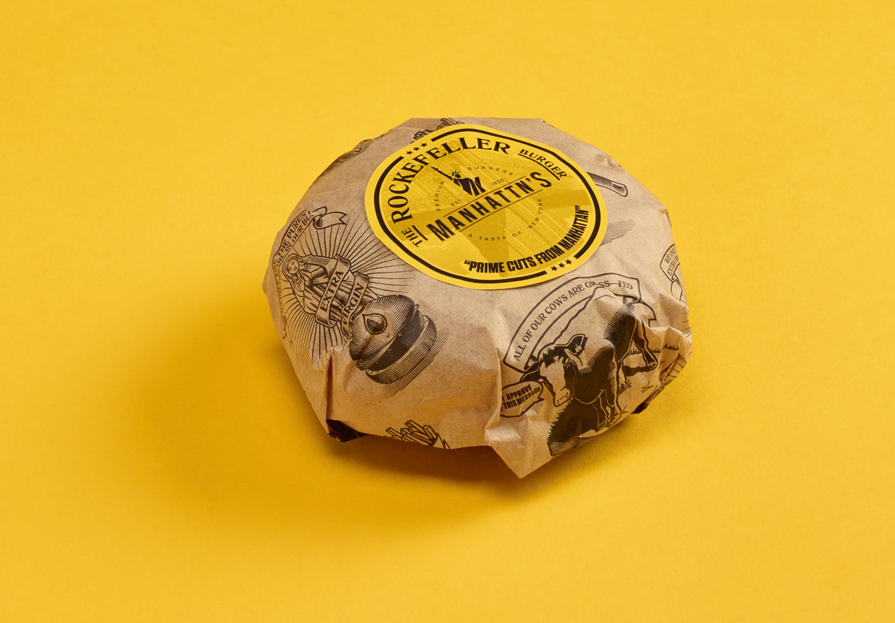 Manhattn's branding