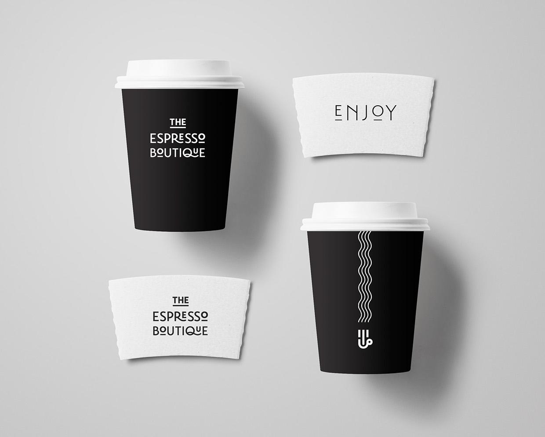 The Espresso Boutique branding