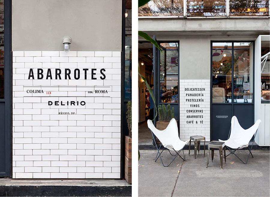 Abarrotes Delirio branding