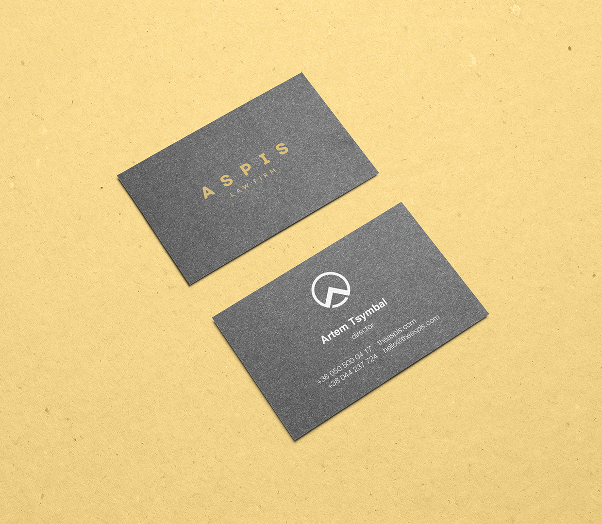 Aspis law firm branding