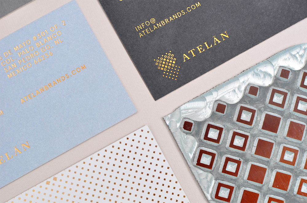 Atelán branding