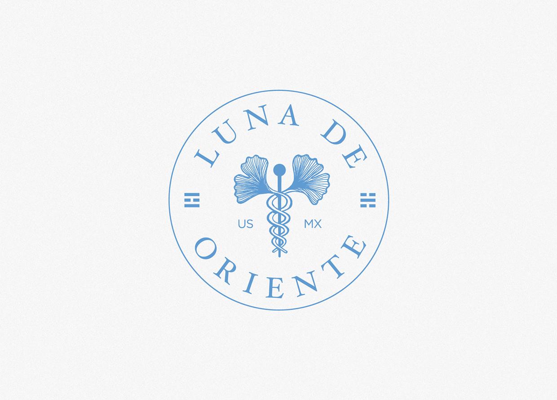 Luna de Oriente branding
