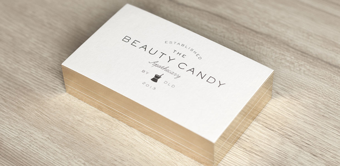 Beauty Candy branding