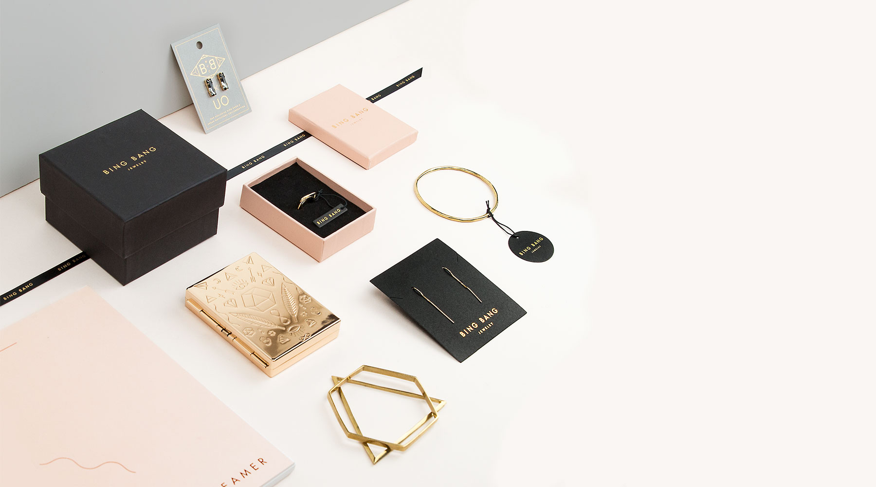 Bing Bang nyc Jewelry branding