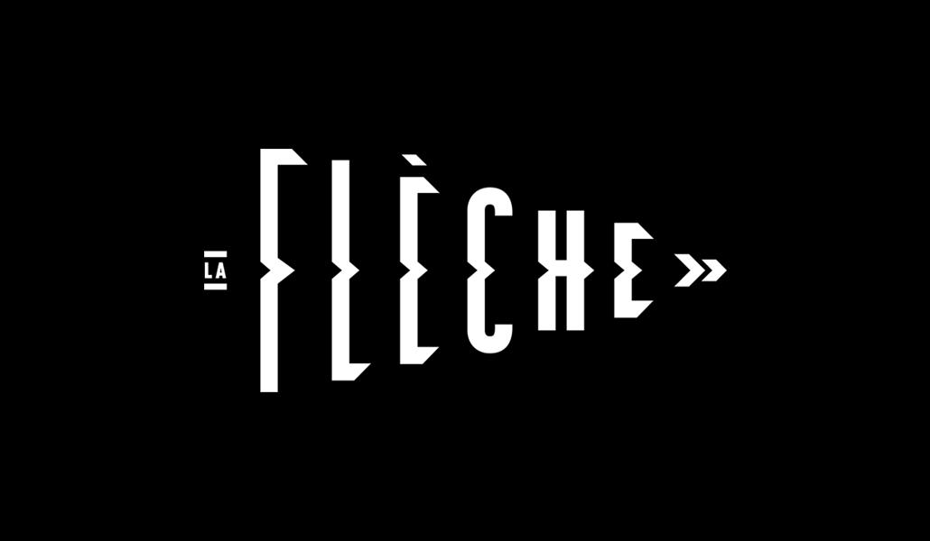 La Flèche branding