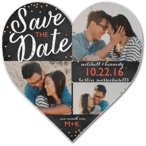 Confetti Date Save The Dates