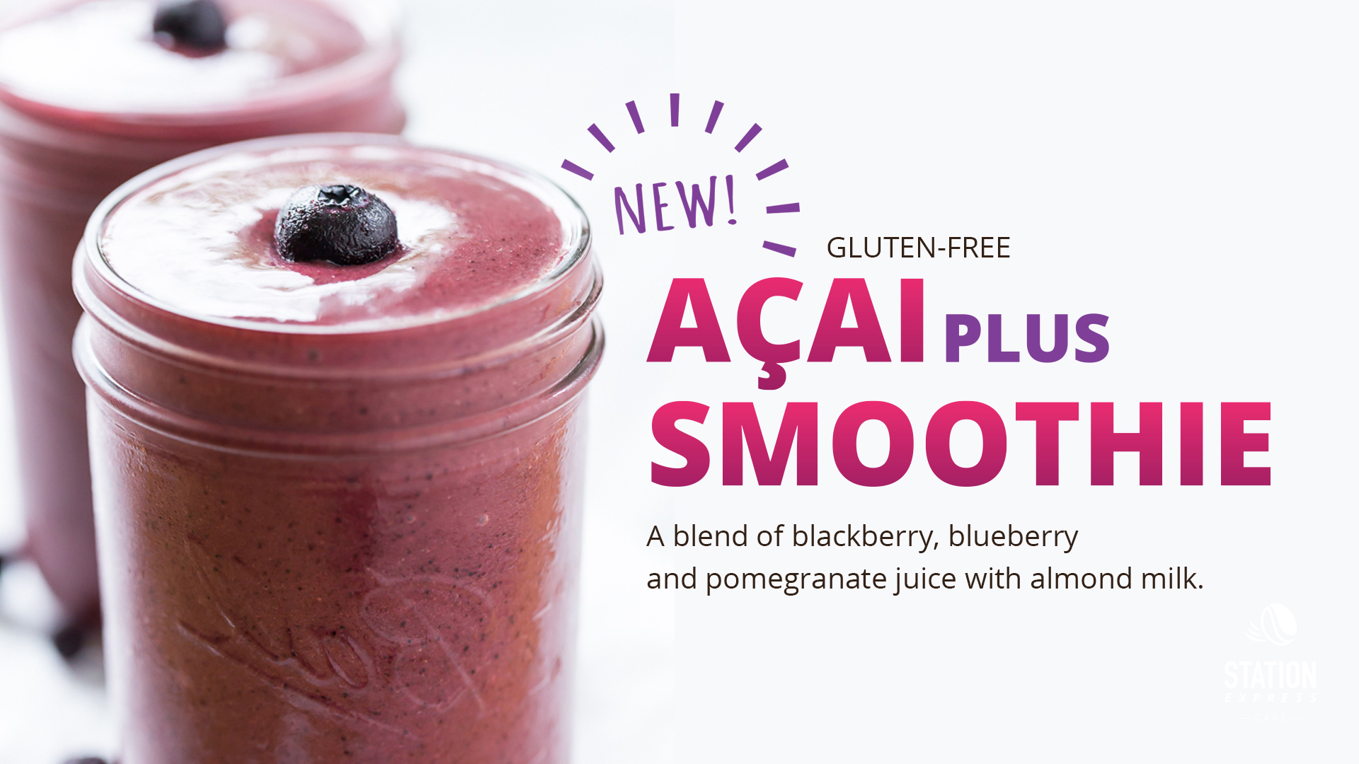 Acai plus smoothie