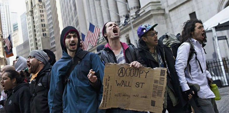 occupy wall street demographics statistics