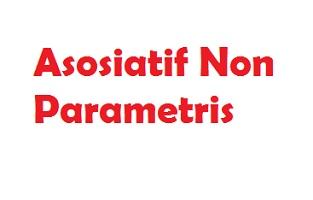 Uji Asosiatif Non Parametris