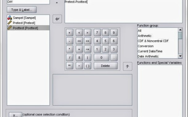 Wilcoxon Signed Rank Test dengan SPSS