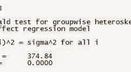 Asumsi Regresi Data Panel dengan STATA