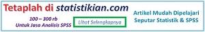 Bantuan Olah dan Analisa Data Statistikian