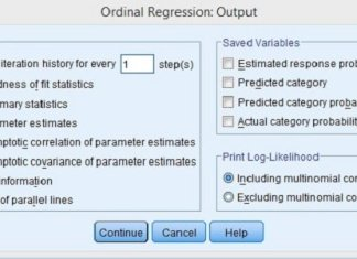 Regresi Ordinal Dengan SPSS