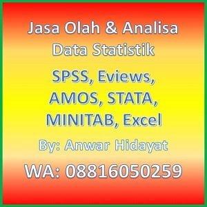 Jasa Analisis Data Statistik Anwar Hidayat