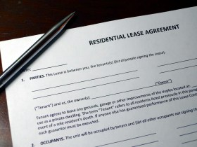 renter lease agreement